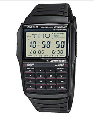 Casio Databank Calculator Retro Lcd Digital Watch Dbc-32-1Aes. Vset