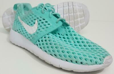 online store 6e0ec 65de3 NIKE Roshe One Flight Weight Kid s 705486-301 Medium Green Size 4Y