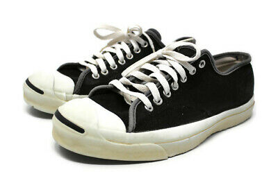 f0beec6df548 CONVERSE Vintage 80 s Jack Purcell Black Sneakers Made in USA Sz 10