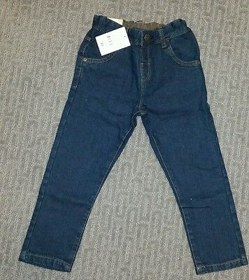 NWT Next Direct Boys 2-3 Years Dark Skinny Jeans - Brand New With Tags