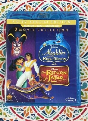 Aladdin King of Thieves/The Return of Jafar (Bluray/DVD)