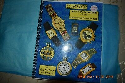 Cartier Wrist & Pocket Watches, and Clocks Identification & Price Guide 1992