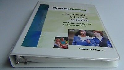 Therapeutic Lifestyle Program by First LineTherapy, Ring Bound HB 2006 Revised