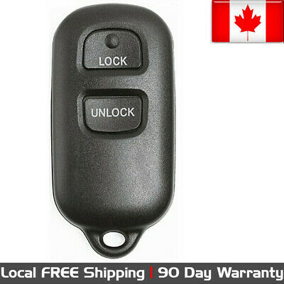 1 New Replacement Keyless Entry Remote Control Key Fob For Toyota BAB237131-056