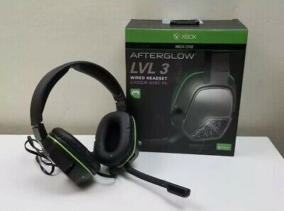 PDP Xbox One Afterglow LVL 3 Stereo Gaming Wired Headset 048-041 3.5mm w/ Box !!