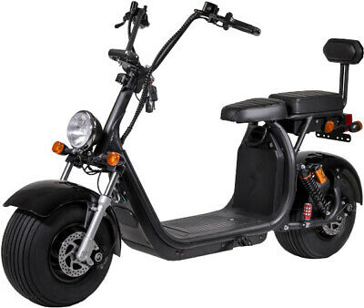 CityRazor Big Wheeler Scooter Schwarz Motorroller Elektroroller RE04 CitiCoco