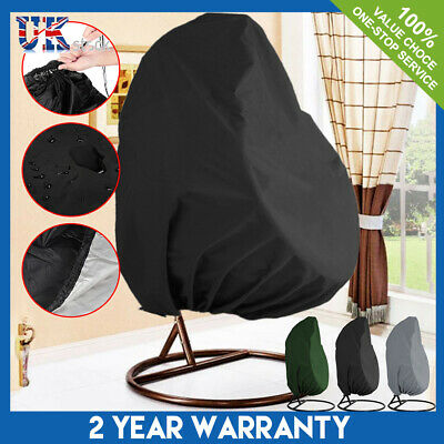 Hanging Swing Egg Chair Cover Garden Patio Rattan Outdoor Rain UV Sun Waterproof