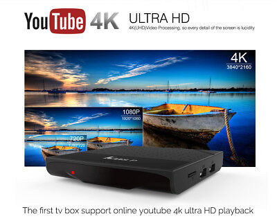 Mecool KM8 P YouTube 4K Netflix HD Android 7.1 Nougat Amlogic S912