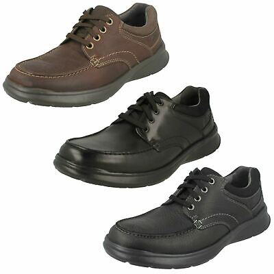 CLARKS Men/'s Cotrell Edge Casual Oxford Lace Up Everyday Comfort Shoes