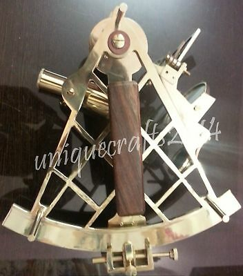 "10"" Nautical Sextant Working Instrument Ship  Collectible Handmade Royal Gift."