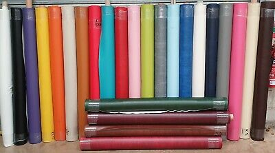 Faux Leather Crafting Fabric Leatherette Upholstery Vinyl Material - Per Metre