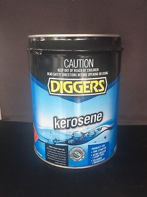 Diggers Kerosene 20 Litre Drum - Pick up only