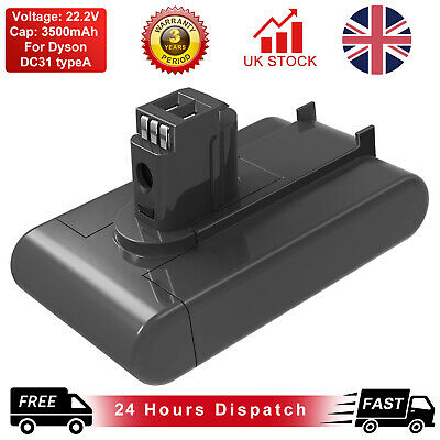 3000mAh Battery For Dyson DC31 DC34 DC44 Handheld Vacuum Cleaner  18172-01-04