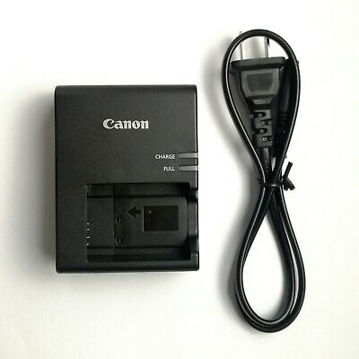 Genuine Canon Battery Charger LC-E17 for EOS Rebel T6i and T6s DSLR Cameras