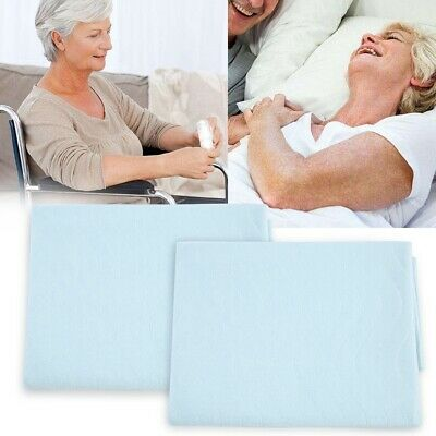 2x Reusable Washable Underpad Incontinence Bed Wetting Pads Sheet Protector