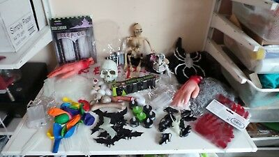 Large Job Lot Halloween Party Prop Table Decorations Toys 20 Different Items 4