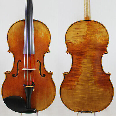 Antique Vanish! Andrea Amati  Viola 15.5 inch Copy!  #5101 Deep Warm Tone!