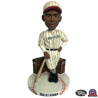 Bullet Joe Rogan Kansas City Monarchs Limited Edition Bobblehead Negro Leagues