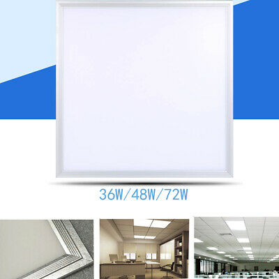36/48/72w LED Panel Ceiling Light Flat Daylight Spotights Office School Kitchen