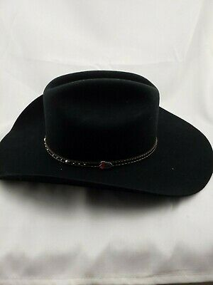 11a195153be41 Justin Authentic Western Headwear cowboy hat XX PRIMIUM MERINO WOOL SZ 7 1 8