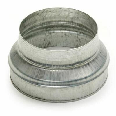 Metal Ducting Pressed Reducer - 100mm to 80mm