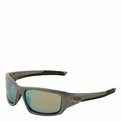 [OO9236-11] Mens Oakley Valve Sunglasses - Dark Grey / Emerald Iridium Polarized