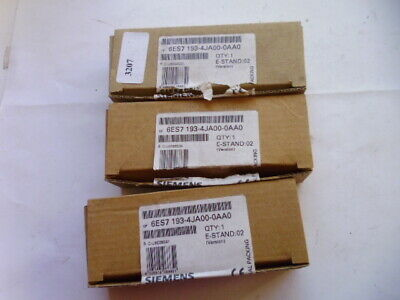 6ES7 193-4JA00-0AA0 SIEMENS SIMATIC MODULE FINAL LOT 3x
