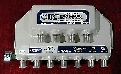 PPC EVO1-9-U/U POWER Cable Signal Booster With Power Supply New