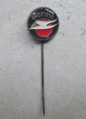 Badge Vintage Pins Motorcycle Berini Hollande Vélo Cycles Moto ancien 1960's