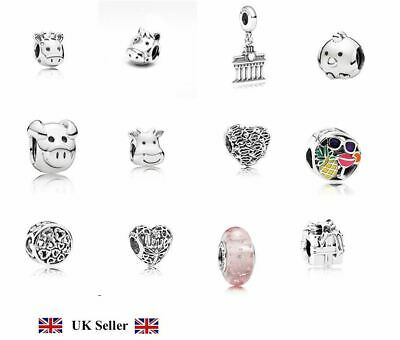 New Genuine Authentic PANDORA Charms ALE S925 Sterling Silver with Free Pouch