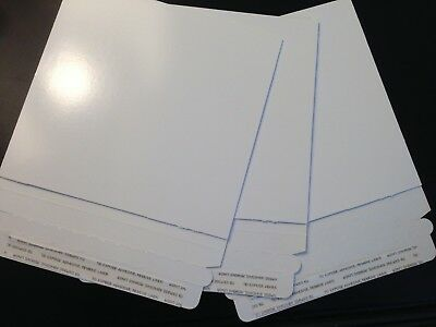 25 6 X 6 Disc makers Premium Photo/CD/Disc  Board Envelopes Mailers Expedited