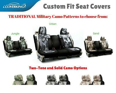 TRADITIONAL MILITARY CAMO CUSTOM FIT SEAT COVERS for NISSAN LEAF