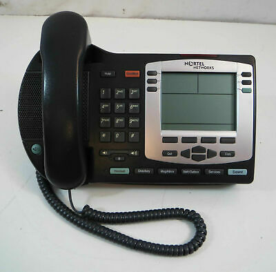 Nortel i2004 NTDU92 Charcoal IP POE Office Business Phones - Lot(s) available