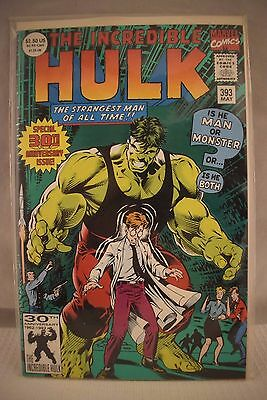 Marvel Comic  The Incredible Hulk   #372 Aug  VF Condition in Plastic 417