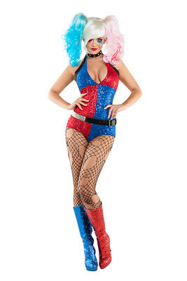 DADDY'S LITTLE MONSTER S Sexy Starline Harley Quinn Suicide Squad Costume S6020