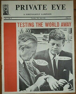 Private Eye Issue 9, 19 April 1962