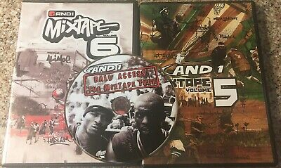 AND 1 MIXTAPE Volume 5 / And 1 Mixtape Volume 6 (2-DVD) Ultimate