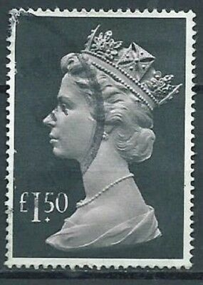 Stamps Gb £1.50 High Value Large Machin Sg1026E 1986 Used (2A)