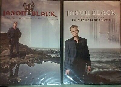 JASON BLACK 2x DVD MIRACLE TENOR LIVE AT CRYSTAL CATHEDRAL & TWIN TOWERS TRIUMPH