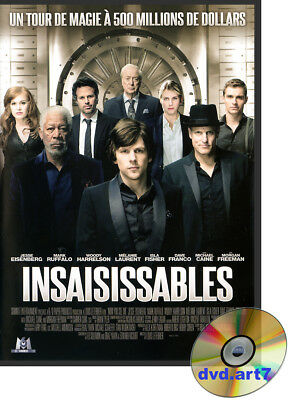 DVD : INSAISISSABLES - Mark Ruffalo - Woody Harrelson - Morgan Freeman