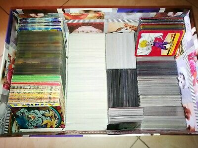 Lotti da 100 carte Pokemon, Yugioh, Magic, Digimon, Calciatori Panini