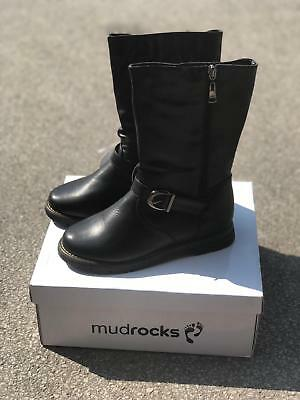 Bnib Kids Girls Mudrocks Synthetic Biker Boots - 2 Colours - All Sizes