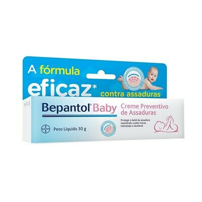 Bepanthen Diaper Rash Cream and Skin Protector  30g - Pomada Bepantol