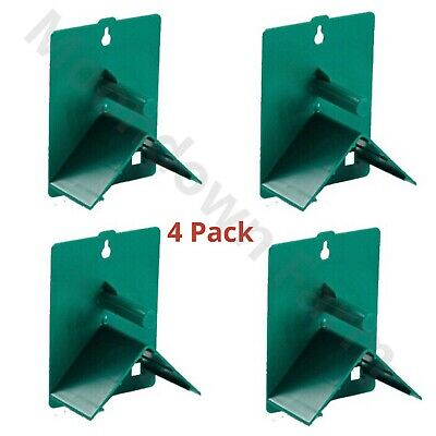 4 x V Plastic Roost Perches For Budgies, Finches, Canaries, Pigeons, Bird Perch