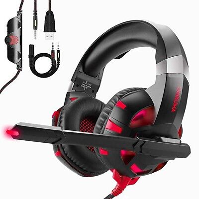 ONIKUMA Gaming Headset With Mic For Laptop PS4 Xbox Nintendo Noise Cancelling