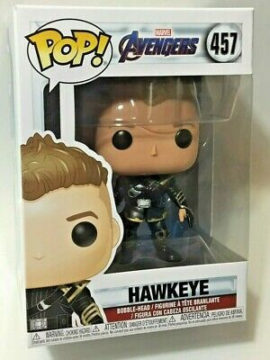 FUNKO Pop Marvel AVENGERS ENDGAME HAWKEYE #457 4in Vinyl Figure MOC IN STOCK