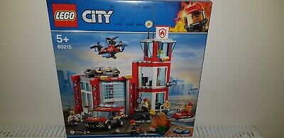 Lego 60215 City Fire Station Off Road Fire Vehicle Drone And Water