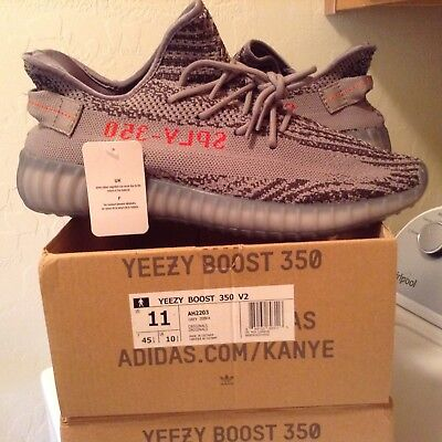 60e2ac1c8fe Adidas Yeezy Boost 350 V2 Zebra USA size 11 NEW WITH BOX   tags KANYE WEST
