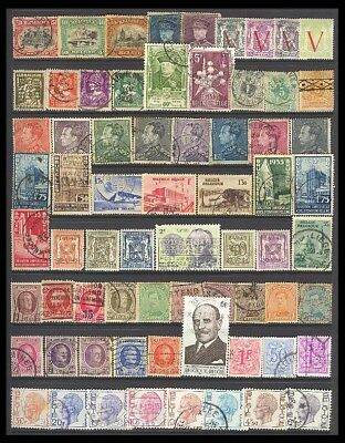 Belgium Postage Stamps - Mixed Collection 68 Diff. #513431