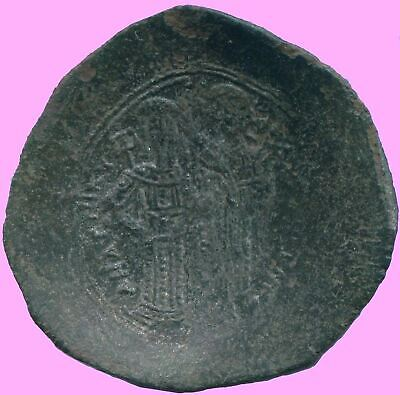 ANDRONICUS I COMNENUS BI Aspron Trachy CONSTANTINOPLE 3.83 g/29.3 mm ANC13664.16